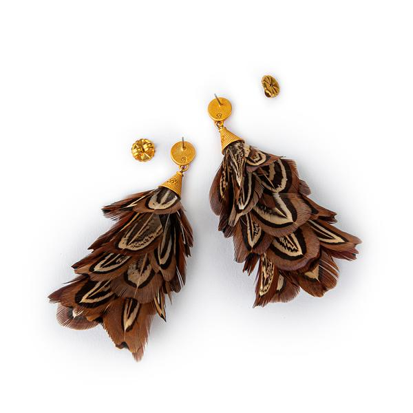 Brackish Marjan Statement Earring