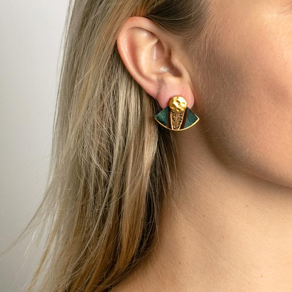 Brackish Mary Grace Stud Earring