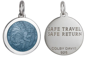 Colby Davis Pendant Medium Saint Christopher