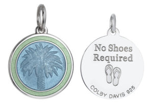Colby Davis Pendant Medium Palm Tree