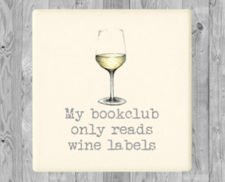 Book Club Tea Towel & Coaster