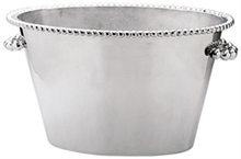 Mariposa Pearled Double Ice Bucket
