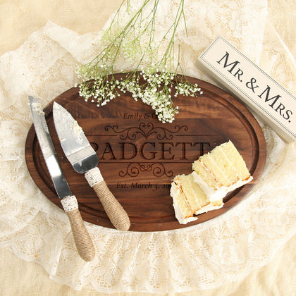 Save The Date Personalized Wood Board
