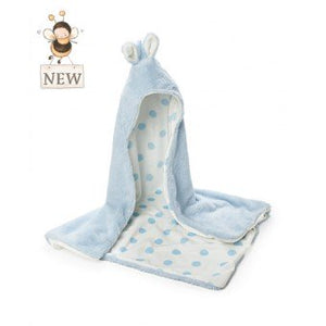 Bunnies by the Bay Hooded Blanket