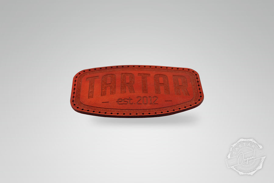 LEATHER PATCH - SCHILD ROT