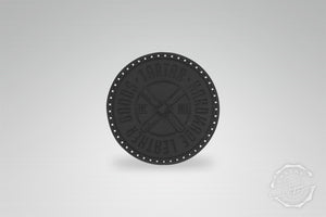 LEATHER PATCH - PROPELLER SCHWARZ