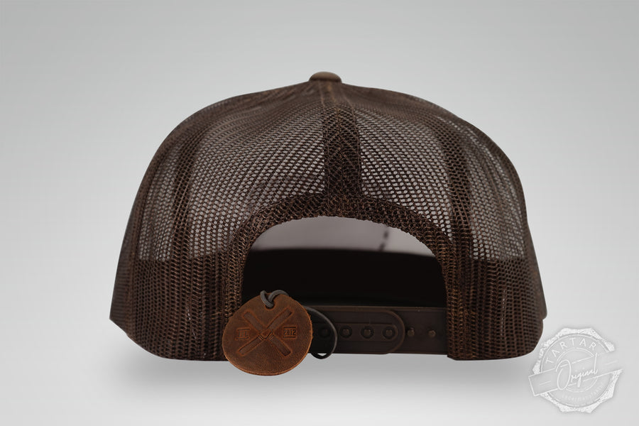 TARTAR CAP - LEATHER PATCH