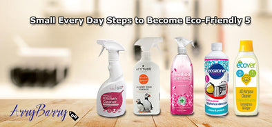 5 Small Every Day Steps to Become Eco-Friendly