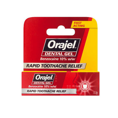 Orajel™ Toothache Relief 5.3 g Tube
