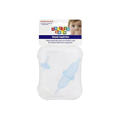 Snufflebabe® Nasal Aspirator Clear/Blue 15 ml 1 Pack