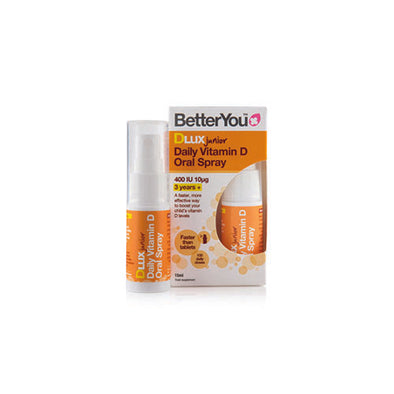 BetterYou® Daily Vitamin D Oral Spray for 3+ years Babies 15 ml 10 μg Vegetarian Aerosol Can