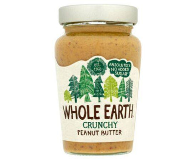 Whole Earth Peanut Butter  Original Crunchy 340g