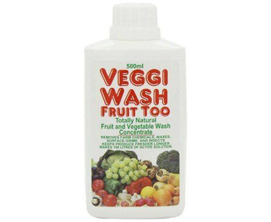 Food Safe Veggie Wash - Concentrated [500ml]