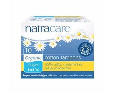 Natracare Tampons Super  Organic 10s