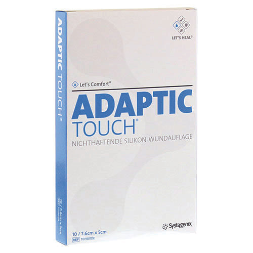 ADAPTIC TOUCH® SILICONE DRESSING RECTANGLE 7.6 X 5 CM 10 PIECE PER PACK