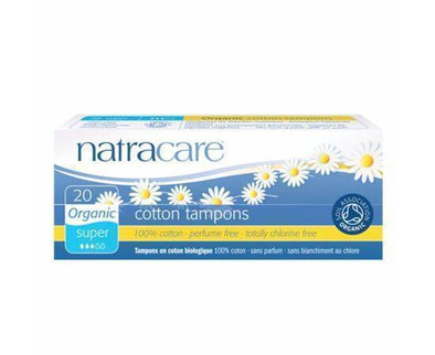 Natracare Tampons Super  Organic 20s