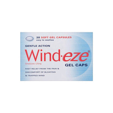 Wind-Eze Gel Capsule 20 125 mg 1 Pack