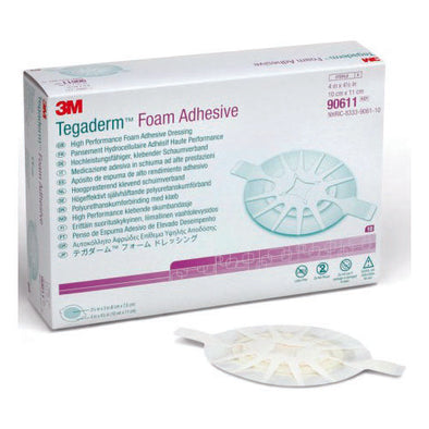 3M TEGADERM™ FOAM DRESSING TRANSPARENT 11 X 10 CM 10 PIECE PER PACK