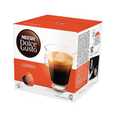 Nescafe® Lungo 16 Capsule Smooth 3 Pack/Box