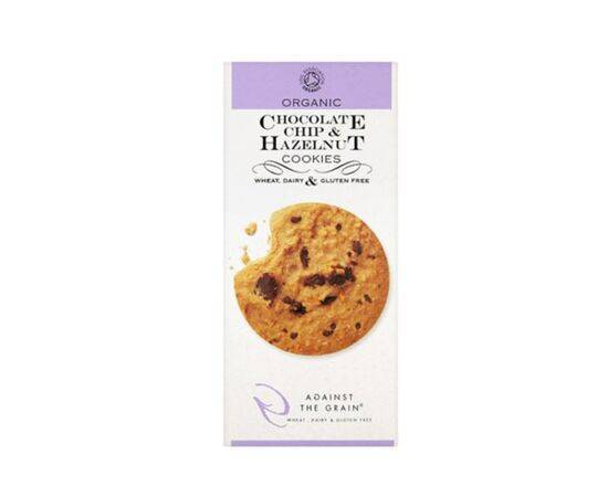 AGAINST THE GRAIN CHOCOLATE CHIP & HAZELNUT COOKIES 150G