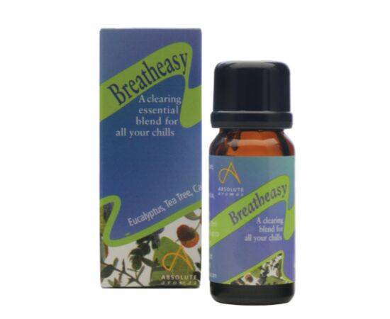 Absolute Aromas Breatheasy Oil Blend 10ml - ArryBarry