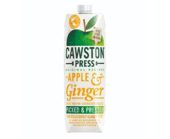 Cawston Apple & Ginger Juice - Pressed [1Ltr]
