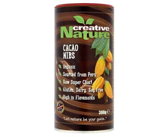 Creative Nature Cacao Nibs  Organic 300g