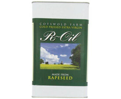 R-Oil Cold Pressed Rapeseed Oil [5Ltr]