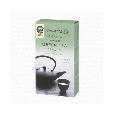 Clearspring Sencha Green Tea 20 Bags