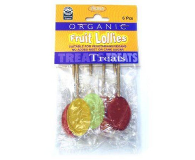 Biona Fruit Lollies - No Added Sugar [6 Pack]