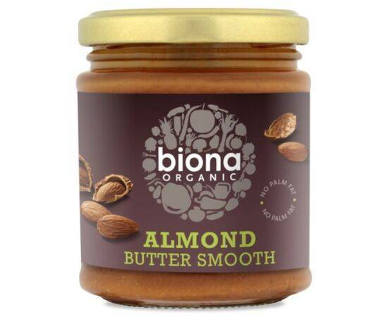 Biona Smooth Almond Butter [170g]