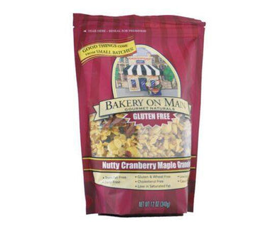 Bakery/Om Nutty Cranberry & Maple Granola [340g] - ArryBarry