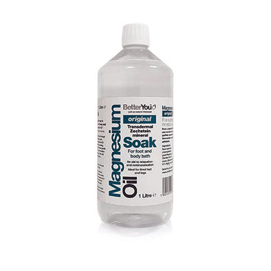 BetterYou® Magnesium Oil Soak 1 L Bottle 1 Pack