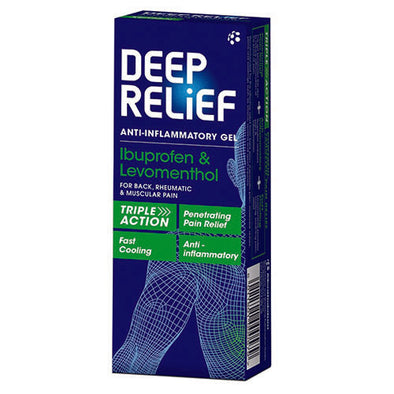 Deep Relief Anti Inflammatory Gel 1 Pack
