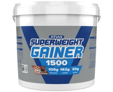 ATLAS SUPERWEIGHT GAINER 1500 CHOCOLATE 5KG