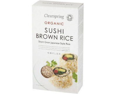 Clearspring Sushi Brown Rice [500g]