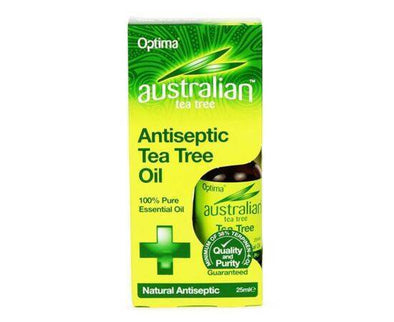 AUSTRALIAN TEA TREE PURE TEA TREE OIL 25ML