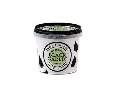 BALSAJO BLACK GARLIC PEELED BLACK GARLIC TUB 150G