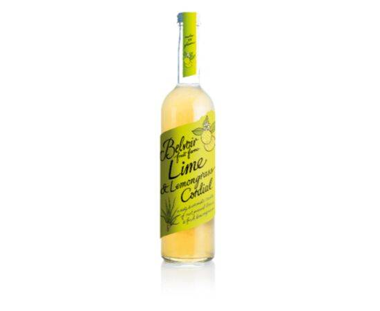 BELVOIR LIME & LEMONGRASS CORDIAL 500ML