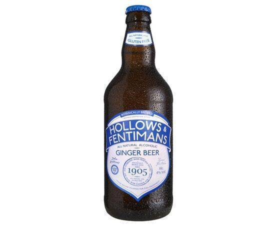 Fentimans Alcoholic Ginger Beer By Hollows [500ml x 8]
