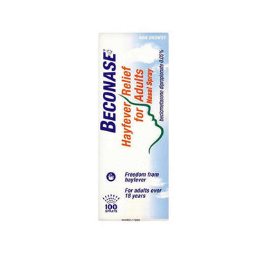 BECONASE® HAYFEVER NASAL SPRAY LIQUID 100 ML BOTTLE