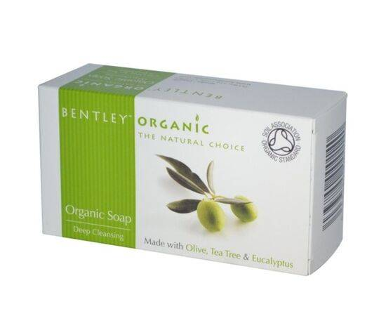 Bentley Deep CleanTea/T &Eucalyptus Soap [150g]