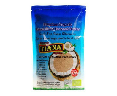 Tiana Premium Crystalised Raw Coconut Nectar 250g