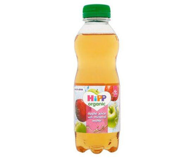 Hipp Juice With Mineral Water  Apple (4+) 500ml x 6