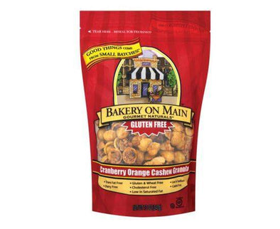 BAKERY ON MAINE CRANBERRY ORANGE & CASHEW GRANOLA 340G