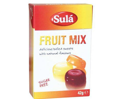 Sula Fruit Mix Sweets - Sugar Free [42g x 14] - ArryBarry