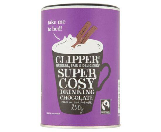 Clipper Super Cosy Fairtrade Drinking Chocolate [250g]