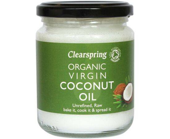Clearspring Virgin Coconut Oil - Organic [200g]