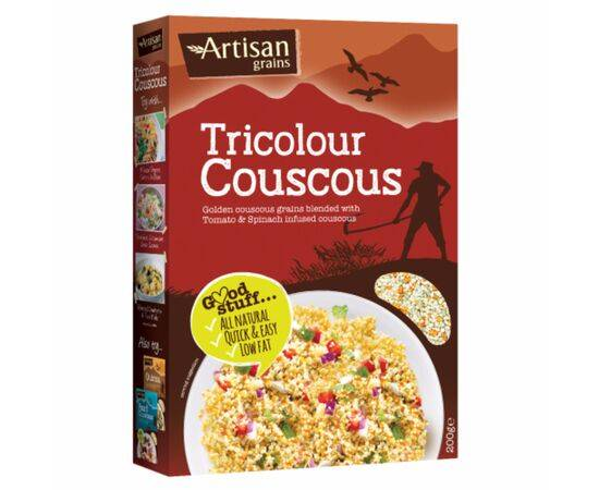 ARTISAN GRAINS TRICOLOUR COUSCOUS 200G X 6