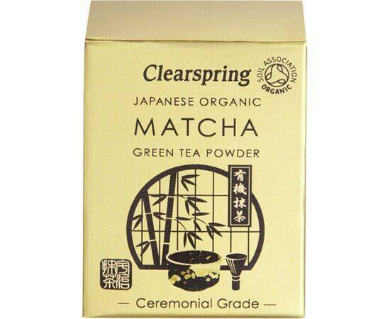Clearspring Matcha Green Tea Powder (Ceremonial) [30g]